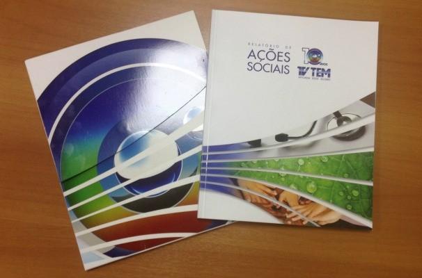 O Relatório de Ações Sociais é distribuído para autoridades municipais, empresas parceiras e demais instituições que promovem o desenvolvimento da região (Foto: Arquivo / TV TEM) (Foto: Arquivo / TV TEM)