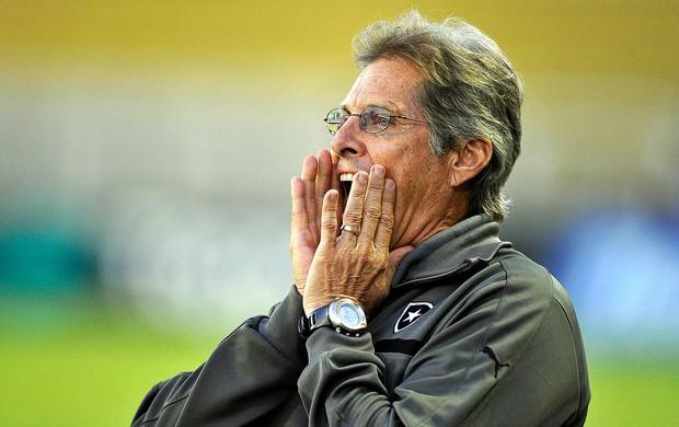 Oswaldo de Oliveira jogo Botafogo Volta Redona (Foto: Fabio Castro / Agif)