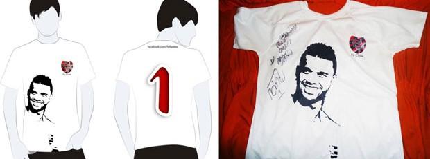 Camisa Felipe Flamengo (Foto: Divulgação / Ideallize Assessoria de Comunicação)