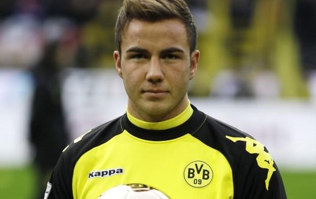 Mario Götze Borussia Dortmund (Foto: Agência AP)