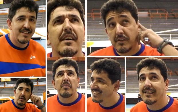 Mosaico Luizomar entrevista dois minutos (Foto: Editoria de arte / Globoesporte.com)