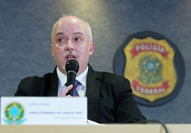 O procurador Carlos Fernando dos Santos Lima, da força-tarefa da Lava Jato (Foto: Reprodução/PF)