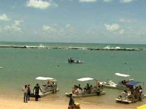 Barra de São Miguel no Terra e Mar (Foto: Reprodução/ TV Gazeta)