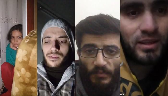 Sírios relatam momentos de terror em Aleppo (Foto: Reprodução/Twitter)
