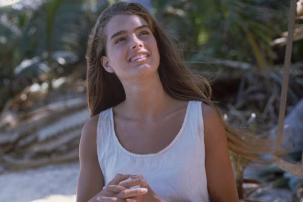 """Brooke Shields em 1980, durante a filmagem de """"A Lagoz Azul"""" (Foto: Getty Images)"""