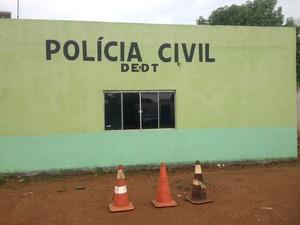 Três ocorrências de acidentes foram registrados na DEDT; a quarta foi registrada na Central de Polícia (Foto: Toni Francis/G1)