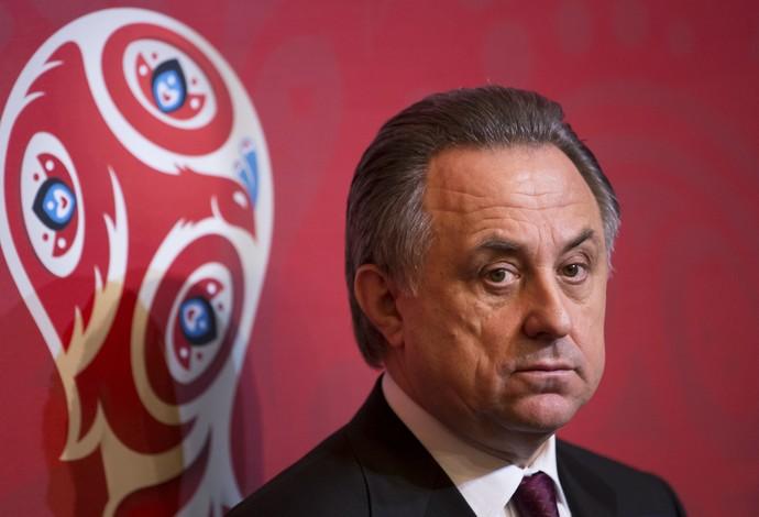 Vitaly Mutko, ministro do Esporte da Rússia (Foto: AP Photo/Ivan Sekretarev)