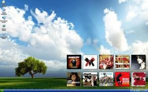 Desktop Album Display