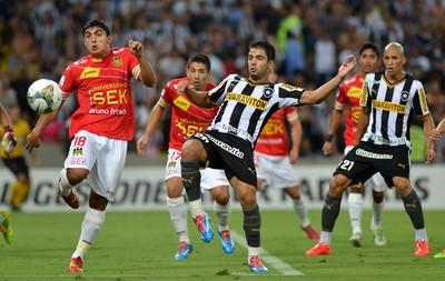 Henrique, Botafogo x União Espanhola (Foto: André Durão)