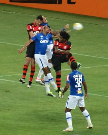 Réver Cruzeiro x Flamengo (Foto: Gustavo Rotstein)