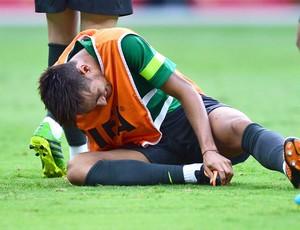 Neymar treino Brasil BH (Foto: Marcos Ribolli)