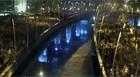 SC: protesto fecha ponte em Florianópolis (Reprodução)
