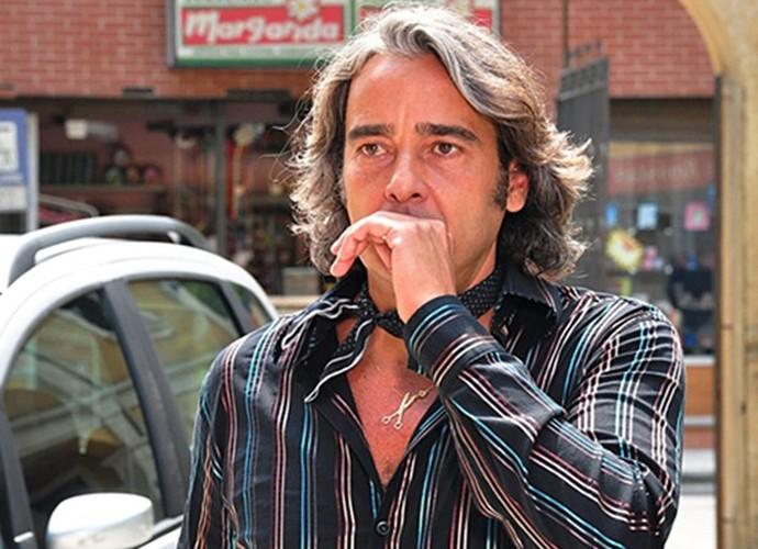 Alexandre na época em que interpretou Jacques Leclair, em Ti Ti Ti (Foto: CEDOC / TV Globo)