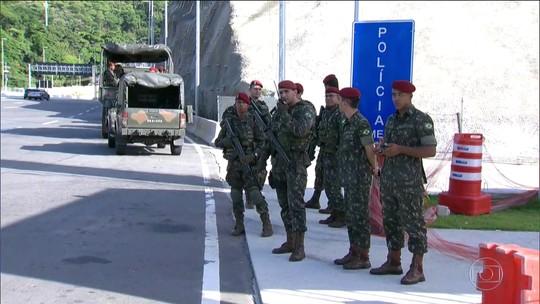 Nove mil militares vão substituir PMs em regiões do Grande Rio