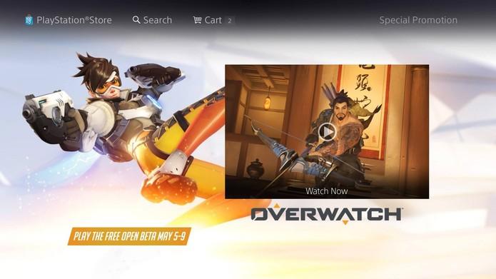 Versão para consoles de Overwatch está disponível na loja online (Foto: Reprodução/Felipe Vinha)