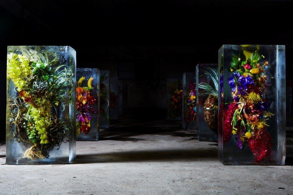 Makoto Azuma trabalha com flores e vai criar uma instalação de 20 metros de diâmetro no Aterro do Flamengo (Foto: Shiinoki)