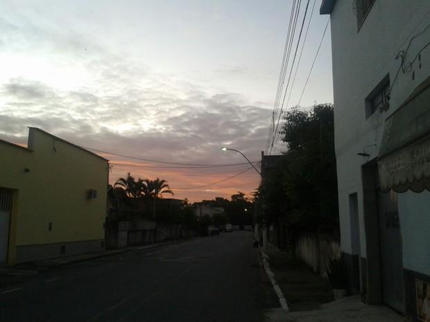 Bairro Saudade, em Barra Mansa (Foto: André Paulo Rodrigues de Carvalho/Arquivo Pessoal)