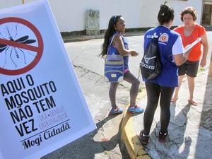 Mogi das Cruzes realiza mutirão em combate ao Aedes Aegypti (Foto: Guilherme Berti/Prefeitura de Mogi das Cruzes)