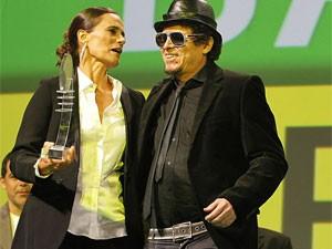 Fred 04 recebeu prêmio pela Mundo Livre S/A (Foto: Wagner Meier / G1)