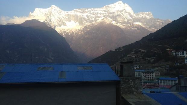 vista da montanha (Foto: arquivo pessoal)