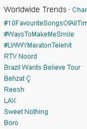 Trending Topics no mundo, 17h02 (Foto: Reprodução)