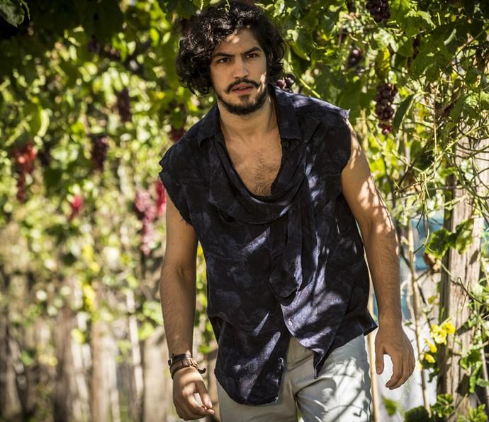 Miguel é afastado de Olívia (Foto: Inácio Moraes/ Gshow)