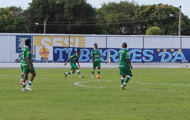Parnanhyba e Gurupi no Estádio Verdinho, em Parnaíba, pela Série D (Foto: Josiel Martins)