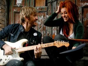 No dia em que conheceu Miranda, André cantou 'Let's get it on' (Marvin Gaye) para ela (Foto: Divulgação)
