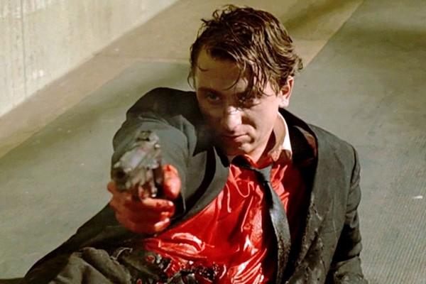 Tim Roth em cena de Cães de Aluguel (1992) (Foto: Reprodução)