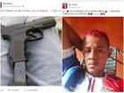 Membro de facção que postava crimes em rede social é preso em Manaus