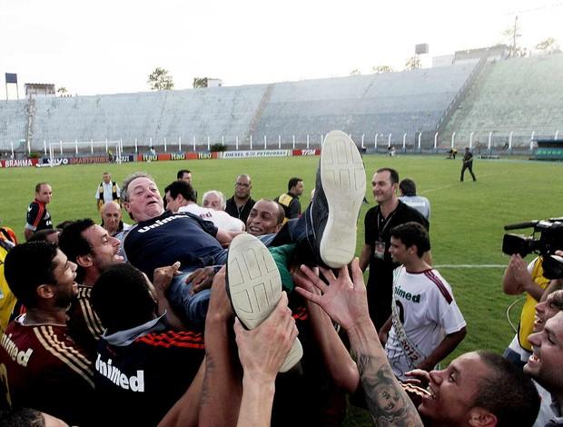 Abel braga fluminense comemora o título brasileiro 2012