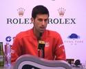 """Djokovic comenta postura de Kyrgios: """"Nada muito legal tem sido falado dele"""""""