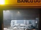 Criminosos explodem caixa eletrônico e trocam tiros com PM em MG
