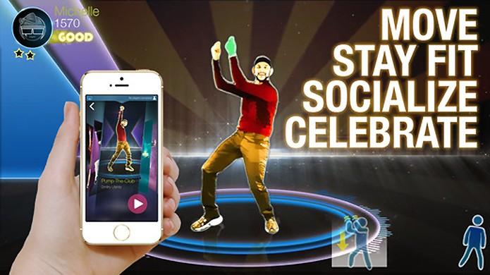 Dance Party permite jogar na sua Apple TV usando seu iPhone ou iPod Touch como controle (Foto: Divulgação)