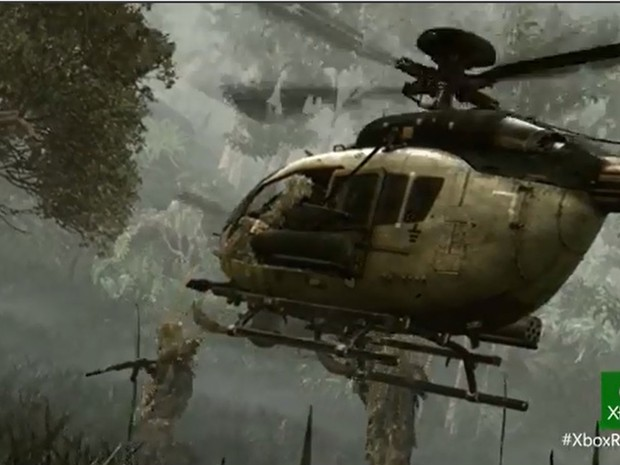 Imagem do novo Call of Duty: Ghosts, game para Xbox One, novo videogame da Microsoft, lançado nesta terça-feira (21) (Foto: Reprodução)