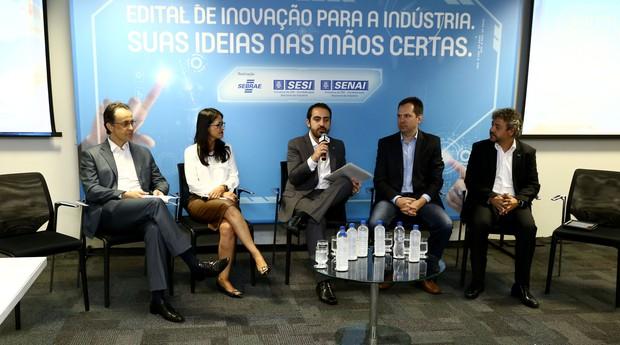 Gerente do Sebrae, Célio Cabral, participa do evento (Foto: Reprodução/Agência Sebrae de Notícias)