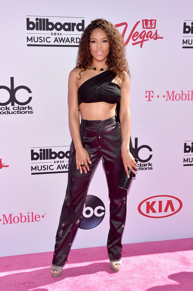 Serayah no Billboard Music Awards (Foto: AFP)