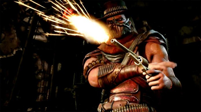 Pistoleiro Erron Black é confirmado oficialmente em Mortal Kombat X (Foto: Reprodução/Multiplayer)