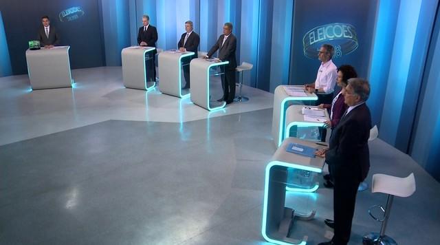 Debate dos candidatos ao governo de MG - Bloco 1