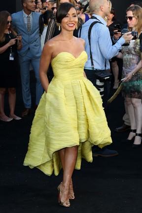 Jada Pinkett Smith em première de filme em Los Angeles, nos Estados Unidos (Foto: Frederick M. Brown/ Getty Images/ AFP)