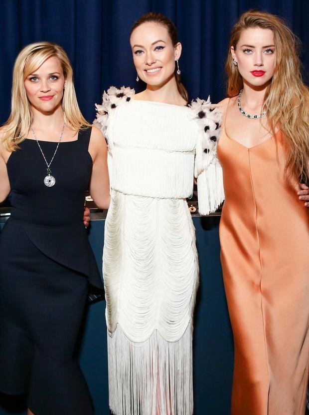 Reese Witherspoon, Olivia Wilde e Amber Heard (Foto: Divulgação)