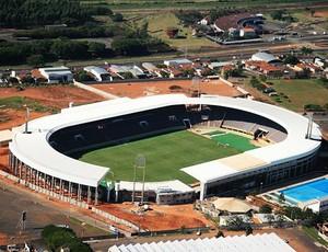 Guia de estádios do Brasileirão  fonte luminosa (Foto: Divulgação)