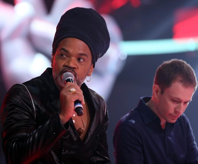 Brown comenta que deve lançar seu próximo CD em breve  (Foto: Isabella Pinheiro / Gshow)