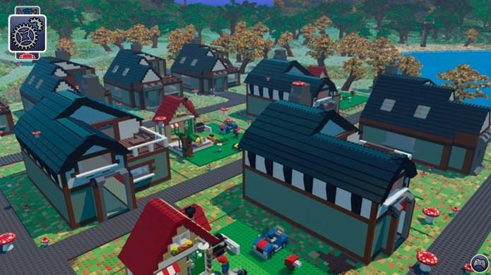 O mundo de Lego Worlds é totalmente customizável (Foto: Divulgação) (Foto: O mundo de Lego Worlds é totalmente customizável (Foto: Divulgação))