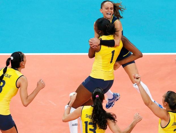 Seleção Brasileira feminina, Brasil e Eua (Foto: Agência Reuters)