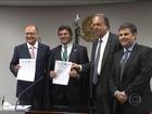 Governadores de SP, Rio e Minas fecham acordo sobre Paraíba do Sul