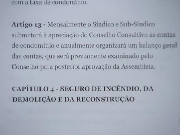 Regras são registradas em convenção (Foto: Reprodução/TV TEM)