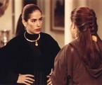 Glória Pires como raquel, a gêmea má de Mulheres de areia | TV Globo