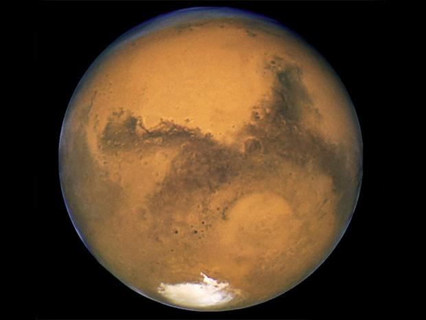 Hubble - Marte (Foto: Nasa/Divulgação)