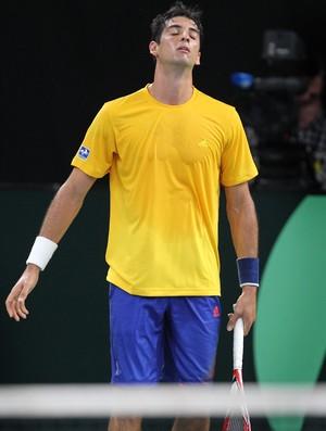 tênis copa davis thomaz bellucci (Foto: AFP)
